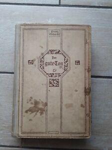 Der gute Ton in allen Lebenslagen , Franz Ebhardt, 1921