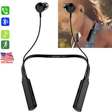 Neckband Bluetooth Headset Stereo Headphone for Samsung Galaxy S10 S9 S8 + Lg G6