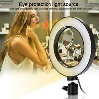 Portable USB Selfie LED Camera Ring Flash Fill Light For IPhone Mobile Phone AL