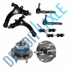 NEW 8pc Front Suspension Kit + 2 Front Wheel Hub Bearing for Chevrolet & Pontiac