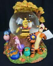 Disney Winnie The Pooh Honey Bee Tree Musical Globe Tigger Eeyore Piglet Lightup