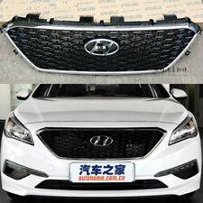 For Hyundai Sonata 2017 2016 Front Per Chrome Style Grill Grille