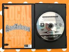 Grand Theft Auto San Andreas Playstation 2 PS2 PAL Disc & Manual Only