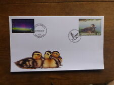 NEW ZEALAND 2018 GAME BIRDS $10 RATE DUCK FDC FIRST DAY COVER