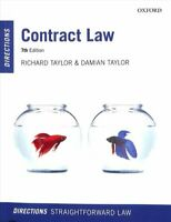 Contract Law Directions by Richard Taylor 9780198836599 | Brand New