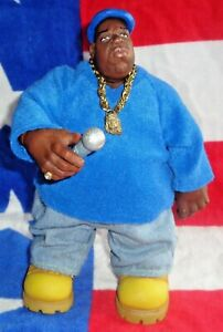 👑The Notorious B.I.G🎤Mezco💿Skys The Limit Blue Outfit Figure 2006 Bad Boy🎵3
