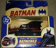 1940's DC Comics Batman Batmobile 1:43 Scale Corgi Die-Cast 2005 -