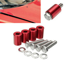 "4Pcs 1"" Hood Space with M8 Mounting Bolts For Car Cooling & Airflow Motor Turbo"
