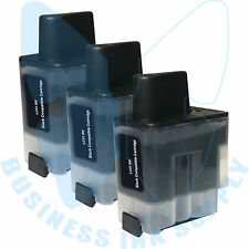 3 BLACK LC41 HIGH YIELD LC41BK Ink Cartridge Compatible for BROTHER Printer