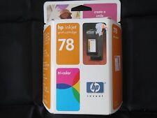 HP 78 Tri-Color Ink May. 2005 NIB NEW OEM Single Unit C6578dn Inkjet