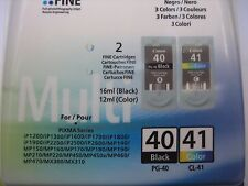 Original Canon MP450 Ink 1x CL41 Color+1xpg40 Black PG40 +CL41 0615B043