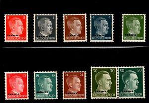 Ukraine - German occupation stamps