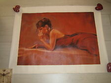 Mark Spain Canvas 'Thinking Of You II' 40 x 50 cm Gorgeous Gift