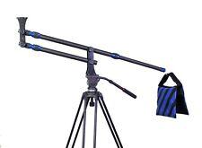 Carbon Fiber jib crane Portable Pro DSLR Video Camera Crane Jib Arm