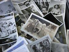 Old Photos Lot Vintage BLACK & WHITE Photographs Snapshots Antique-Candid & More