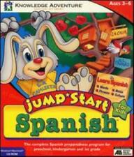 JumpStart Spanish PC MAC CD matching words speak foreign language espanol game
