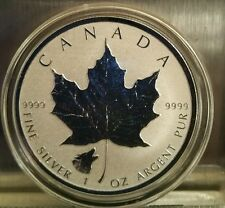 2016 1 oz Wolf Privy Canadian Silver Maple Leaf Reverse Proof Coin 5 dollars