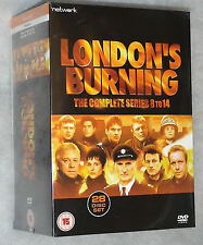 London's Burning Serie Completa 8-14 - 28 DVD Box Set - NUEVO Y SIN ABRIR