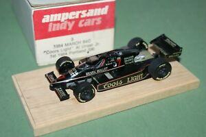 Ampersand March 84C Coors Light Indy 1984 Al Unser 1/43 metal finished model