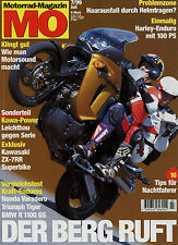 mo 7/99 1999 Triumph Tiger Excelsior Henderson Super X MTS 600 BMW R 1100 GS
