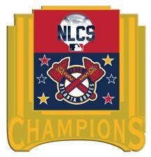 Atlanta Braves Nlcs Champions Broche 2021 MLB World Série Or Métal Base Limitée