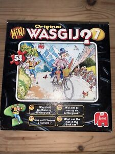 MINI WASGIJ 7 MOUNTAIN COURSE? 54 PIECE Jigsaw Puzzle Cartoon/Cyclist complete