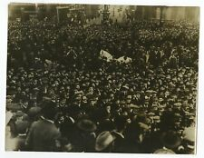 Cincinnati Street Car Strike - Early 1900s Original Press Photograph