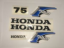 Honda 75 hp 4-Stroke Outboard Decal Kit - USA free fast shipping fourstroke