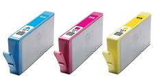 3 ORIGINAL 2015 DATED HP 364 XL INK CARTRIDGES  CYAN MAGENTA YELLOW FAST POSTAGE