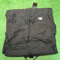 TUMI Alpha Classic Garment Bag  Black Ballistic Nylon Bi-Fold Fast Shipping