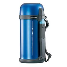 Zojirushi SF-CC15-AH Stainless Steel vacuum bottle with cup 1.5L - Metallic Blue