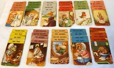 Pepys Series Vintage Woodland Happy Families, Illustrated Racey Helps, COMPLETE