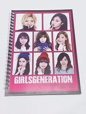SNSD Girls Generation Note Book Exercise Book Workbook Note Pad KPOP Yuri Yoona