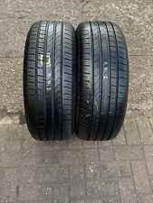 245 50 18 100W Pirelli Cinturato P7 * RSC  Rft Run Flat 2x Tyres BMW Merc Pair