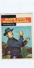 Topps 1958 Western TV Card #27 Have Gun Will Travel, Paladin, Dangerous Foe