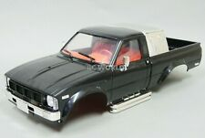 RC 1/10 Truck HARD Body Shell TOYOTA PICKUP TRUCK Scale Body Shell BLACK