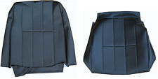VOLVO 240 245 265 SEAT COVER ORIGINAL UPHOLSTERY 4 line BLACK  VINYL NEW IC 5146