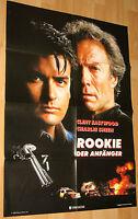 """Rookie – Der Anfänger """"The Rookie"""" Filmplakat / Poster A1 ca 60x84cm"""