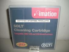 NEW Imation 16332 SDLT SuperDLT Cleaning Tape Cartridge 19P4357 MR-SACCL-01