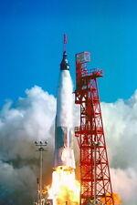 New 5x7 Photo: Launch of Friendship 7, Astronaut John Glenn in Orbit