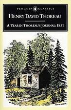 A Year in Thoreau's Journal 1815 by Henry David Thoreau 9780140390858 (L17)
