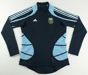 Vintage Adidas Formotion 2008 Argentina Player Issue Warm Up Training Top Size S