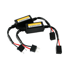 2X Car H7 LED Headlight Canbus Error Anti Flicker Resistor Anti-Flicker Decoder
