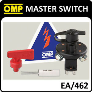 EA/462 OMP RACING MASTER SWITCH 6 POLE DISCONNECT POWER TO BATTERY & ALTERNATOR