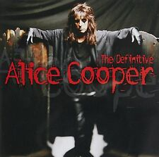 Alice Cooper The Definitive Remastered CD NEW