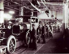 FORD MODEL A 1929 DEARBORN CAR ASSEMBLY LINE IN ACTON 8x10 Glossy B&W Photo