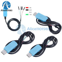 5PCS PL2303TA USB TTL to RS232 Converter Serial Cable Module win8 XP VISTA 7 8.1