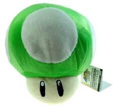 "Nintendo Super Mario Brothers Bro Green Mushroom 7"" Stuffed Toy Kids Plush Doll"