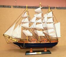 Collectable Merchant Navy Wooden Galleon 60cm Model Ship Boat Nautical Gift Deco
