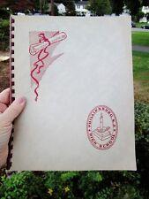 c.1960 Vintage HIGH SCHOOL Program Courses, Activities Booklet: PHILLIPSBURG NJ